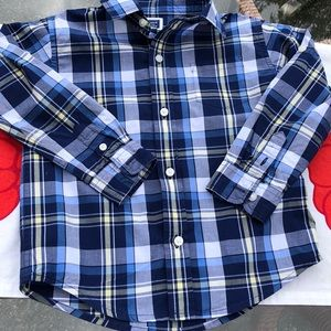 Janie and Jack Boys Button Down Perfect! Size 3